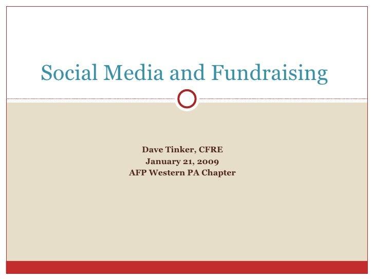 AFP WPA Social Media and Fundraising