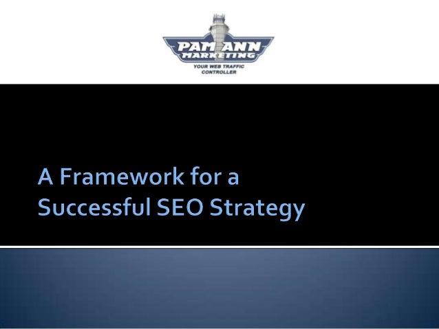 A Framework for a Successful SEO Strategy