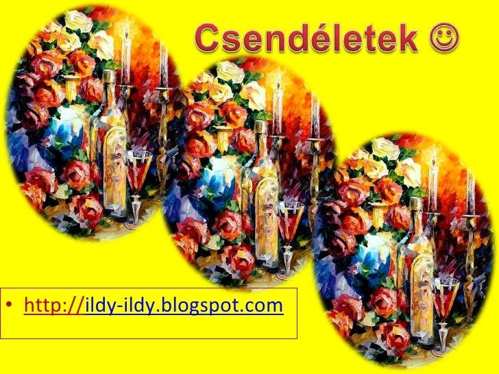 <ul><li>http:// ildy-ildy.blogspot.com </li></ul>