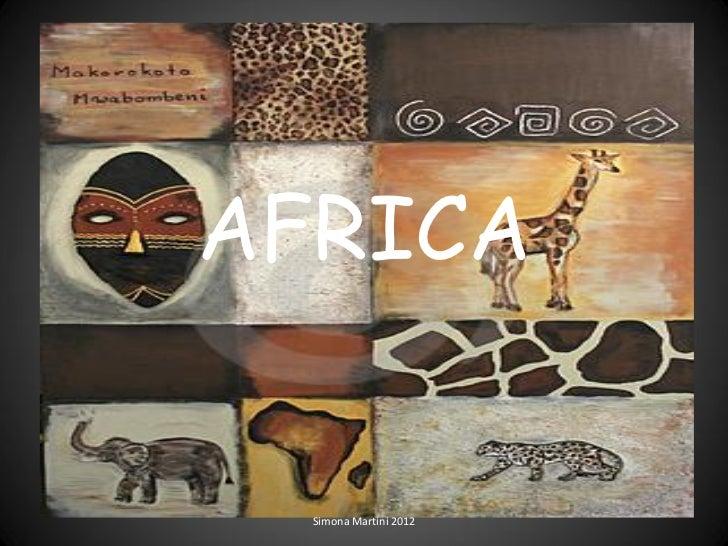 AFRICA  Simona Martini 2012