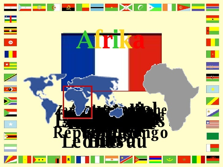 A f r i k a Ägypten Äquatorial Guinea Äthiopien Algerien Angola Benin Botswana Burkina Faso Burundi Comoren Djibouti Elfen...