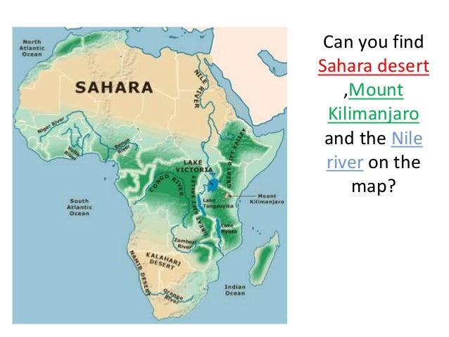 sahara desert map world maps enviromapcom