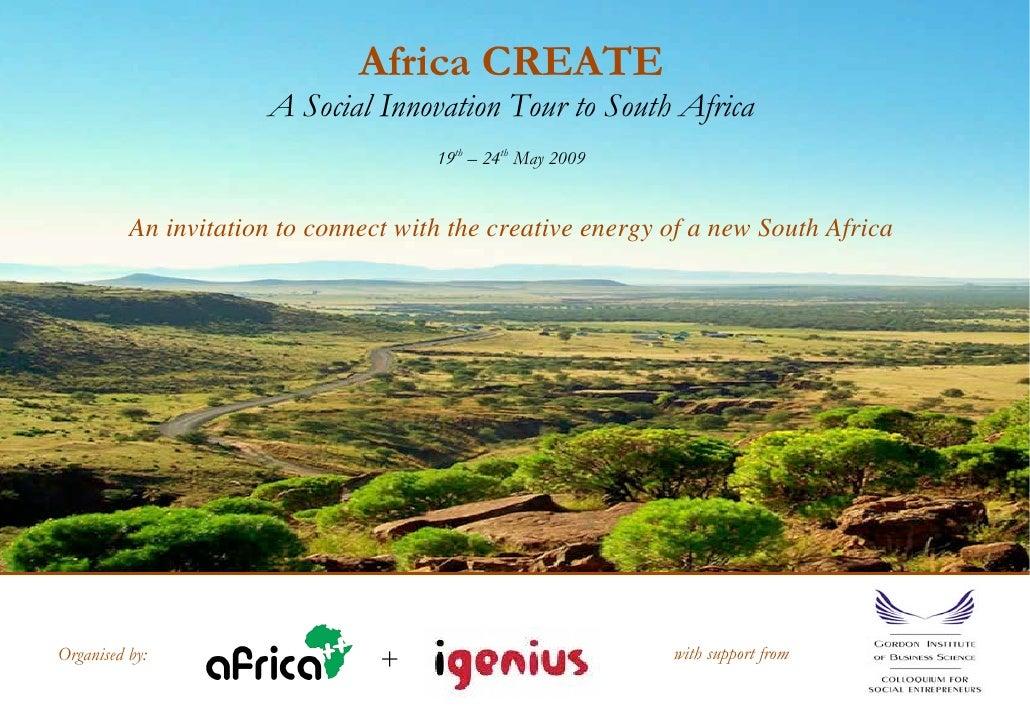 Africa Create Invite
