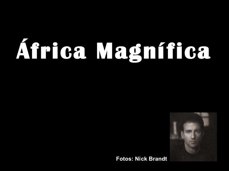 Africa, en blanco y negro