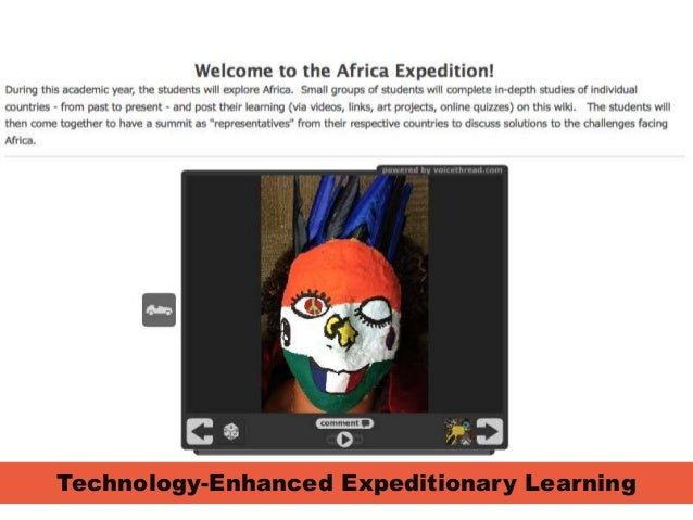 Junior High Technology-Enhanced African Learning Expedition