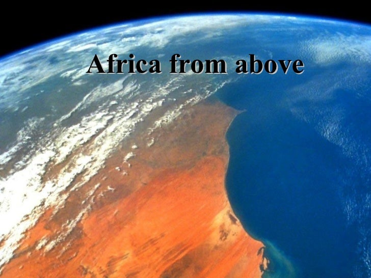 Africa from above*