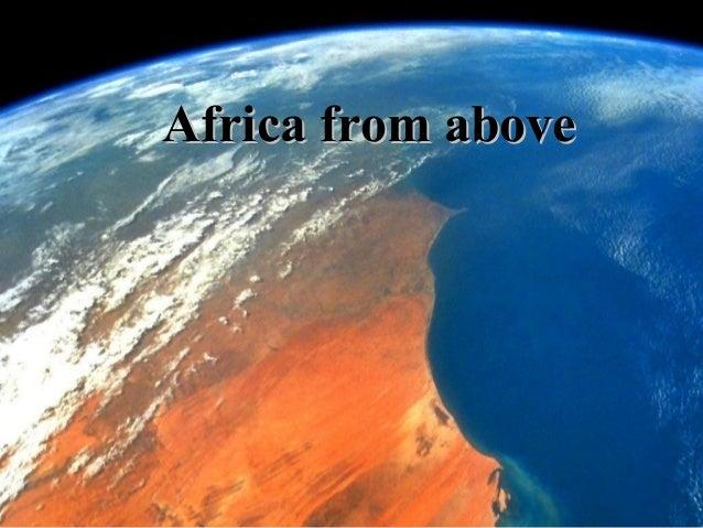 ÁFRICA DESDE EL AIRE