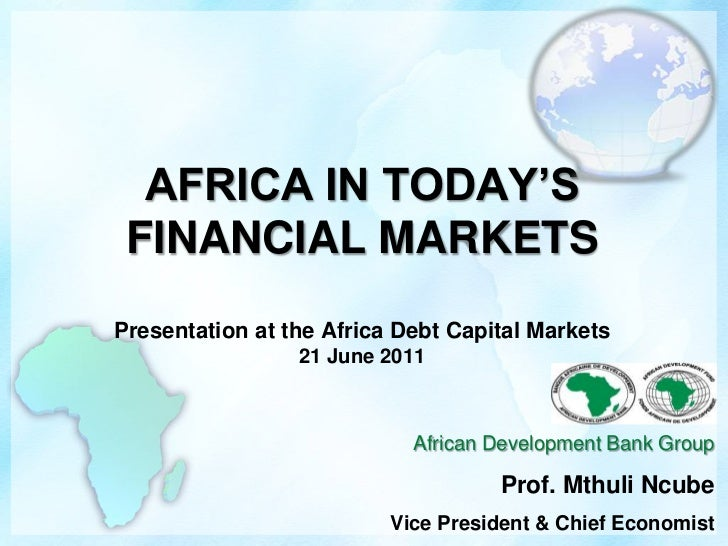 Africa in Today's Financial Markets