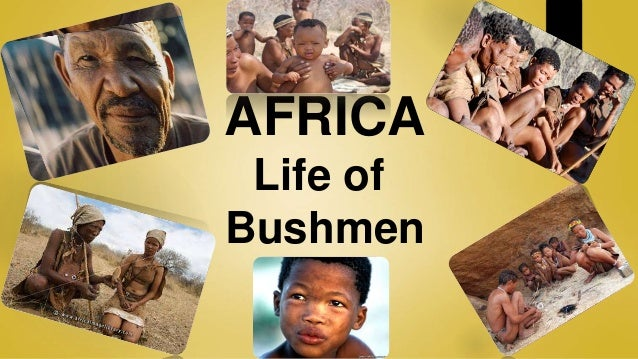 the life of a bushman Two young bushmen grapple with the possibility of transitioning to modern lives ' it's upon us as the youth to find out who we really want to be.