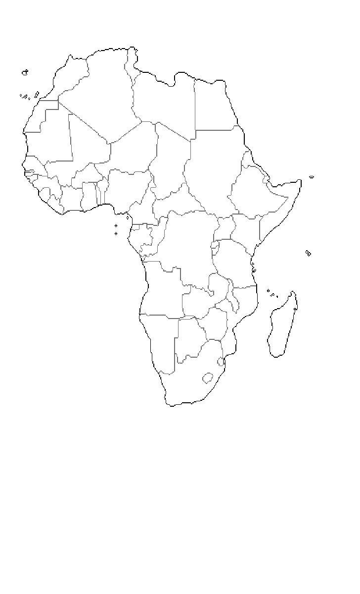 Africa mudo