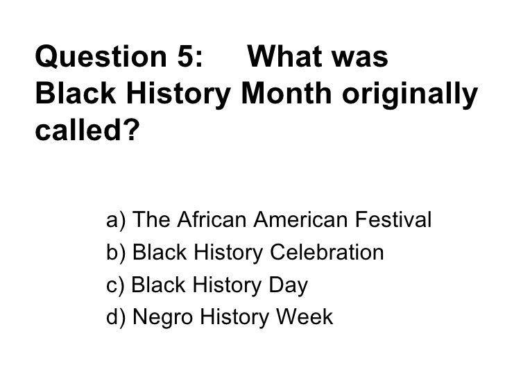 American History Question?