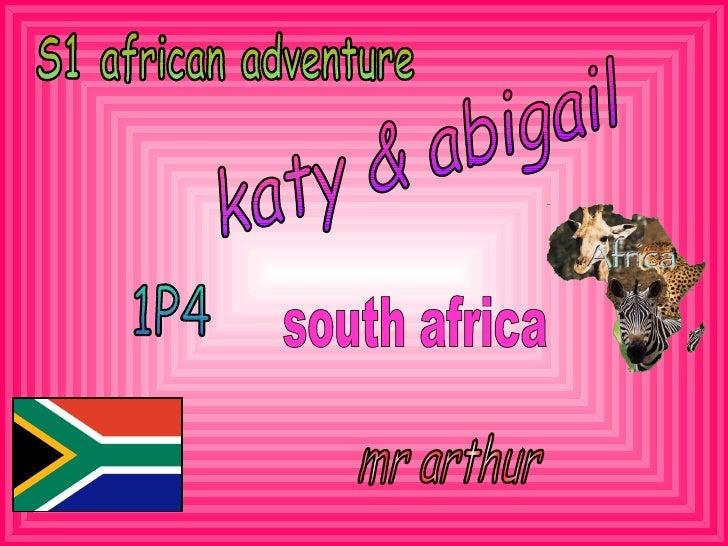 African Adventure  Abigail & Katy