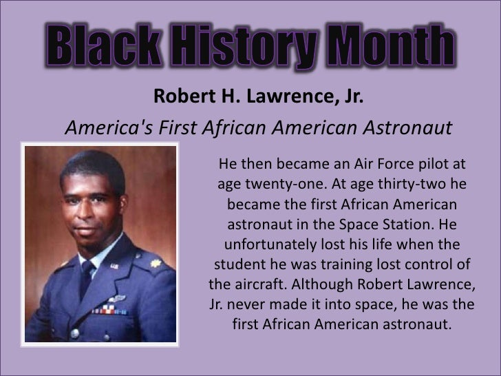 Robert H  Lawrence  Robert Lawrence Astronaut