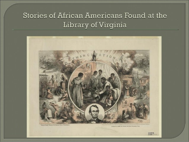 The Library of Virginia houses local court records, state records, personal papers, business records, newspapers, special ...
