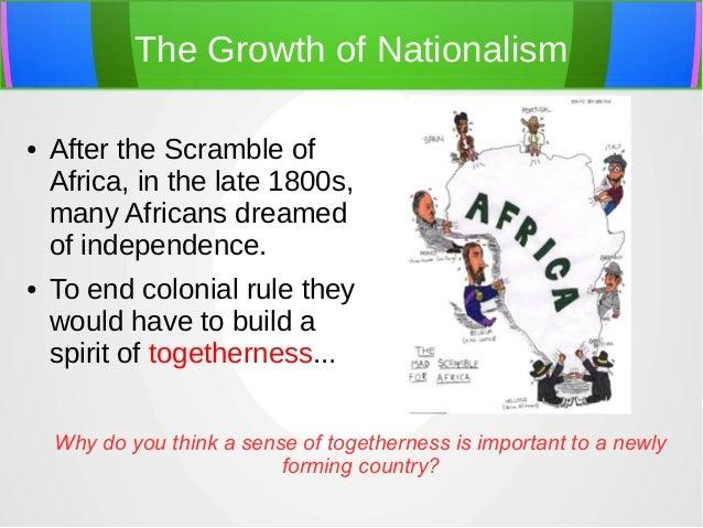 Africa nationalism