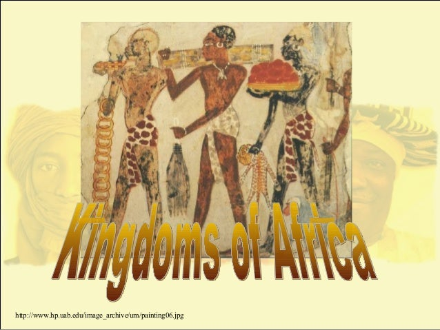African Civilizations Ghana & Mali