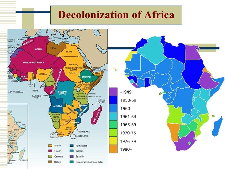 decolonization of africa The following are all the main reasons of why decolonization occurred decolonization in africa decolonization in southeast asia causes of decolonization.