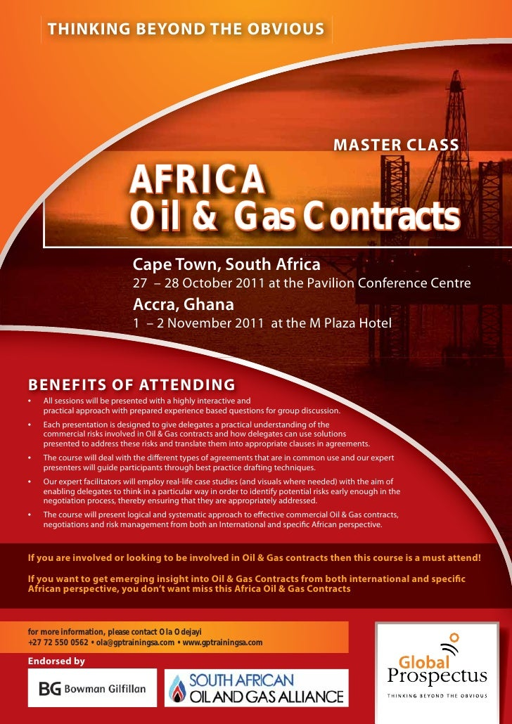 Africa Oil and Gas Contracts
