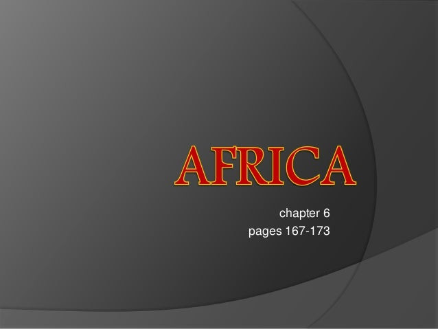 chapter 6 pages 167-173
