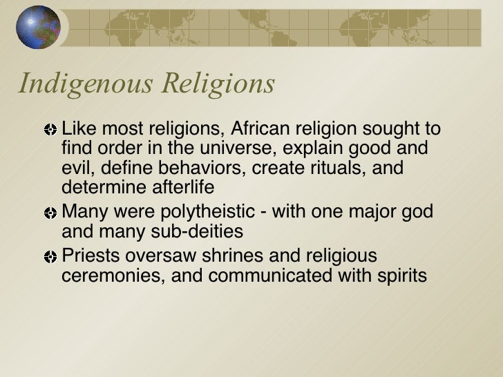 characterize the role of religion in In a world where religions plays such a major role in people's lives this religion believes in the art of reincarnation.