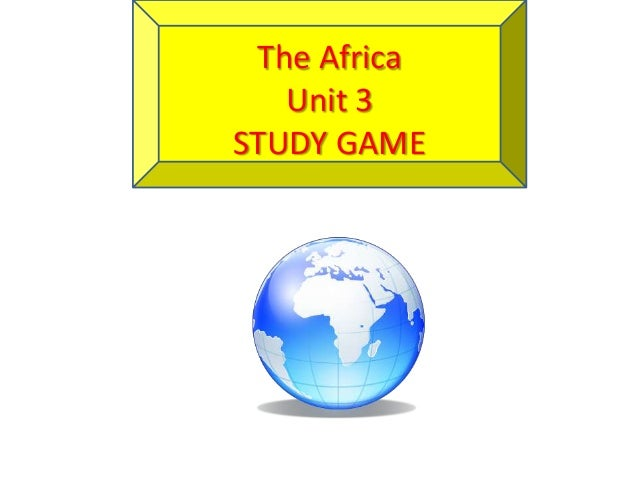 Africa study game unit 3 Govts
