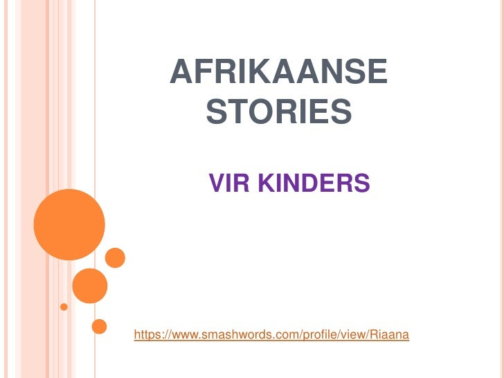 afrikaans descriptive essays