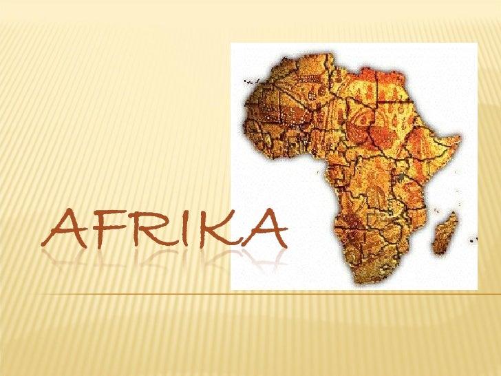 Afrika, Powerpoint for kids, teach