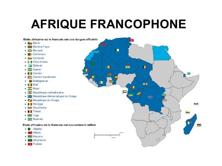 Site de rencontre afrique francophone