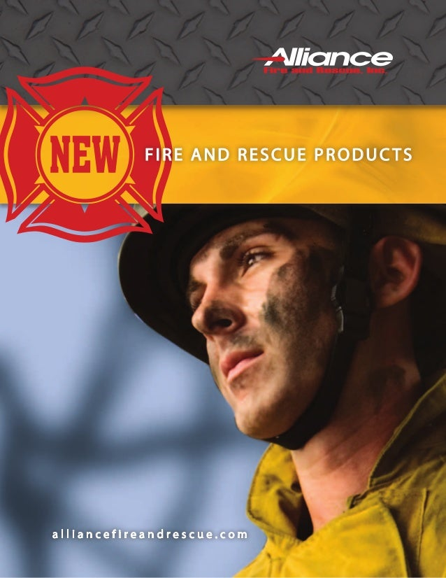 FIRE AND RESCUE PRODUCTS  alliancefireandrescue.com
