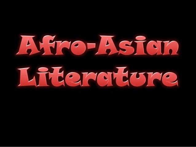 Afro asian lit