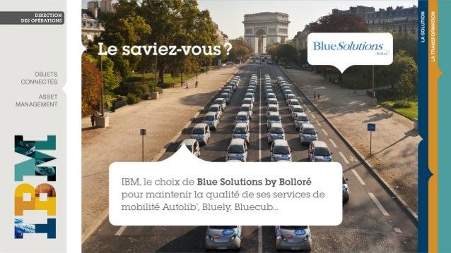 Blue Solutions by Bolloré a choisi IBM pour la maintenance des véhicules électriques en autopartage
