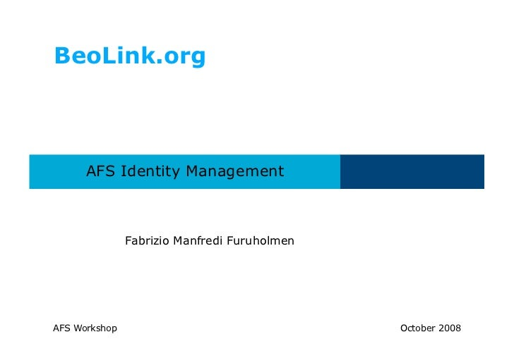 Afs manager