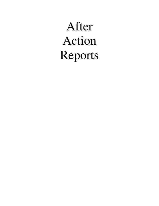 AfterActionReports