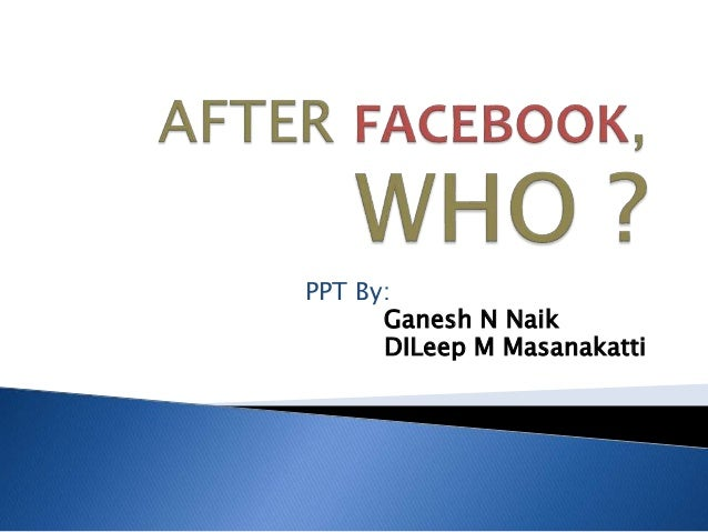 After facebook who!! (2)
