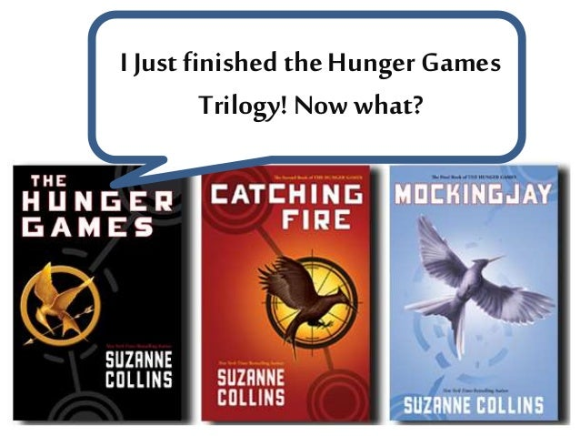 I Just finished the Hunger Games Trilogy!Now what?
