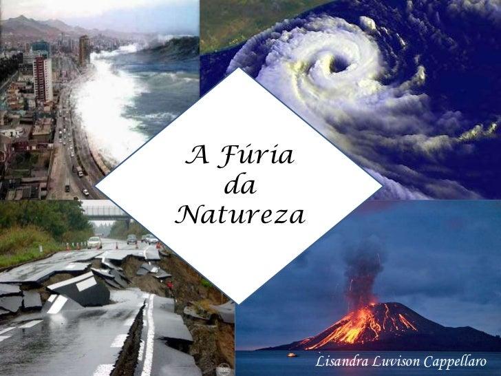 A Fúria da Natureza<br />Lisandra LuvisonCappellaro<br />