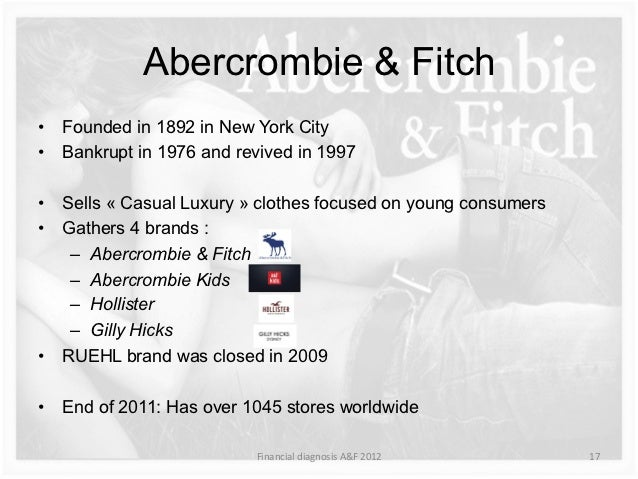 pestle abercrombie and fitch essay The history of abercrombie & fitch began in the nineteenth century and extends into the twenty-first century key figures who changed and influenced the course of abercrombie & fitch's history include co-founders david t abercrombie and ezra fitch, limited brands and michael jeffries,.