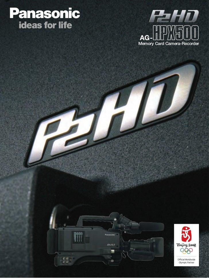 Panasonic AG-HPX500