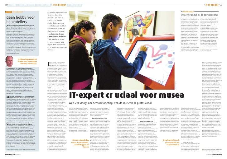 IT expert cruciaal voor musea