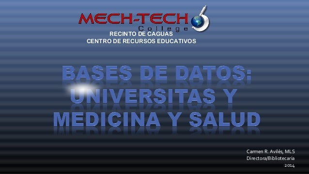Bases datos blog mayo 2014