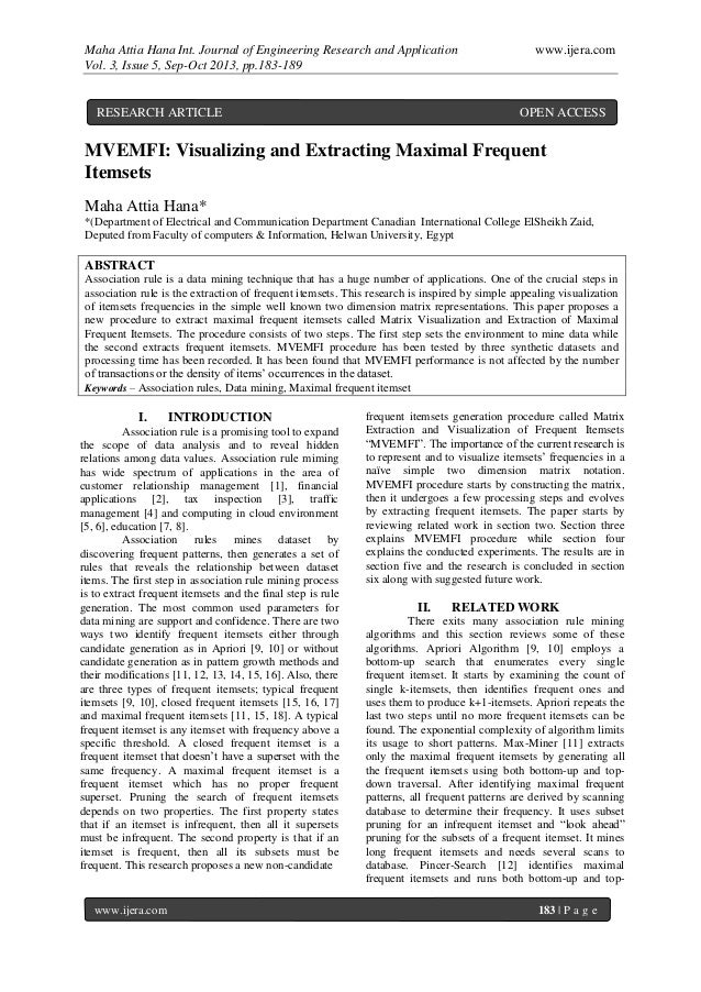 Maha Attia Hana Int. Journal of Engineering Research and Application www.ijera.com Vol. 3, Issue 5, Sep-Oct 2013, pp.183-1...