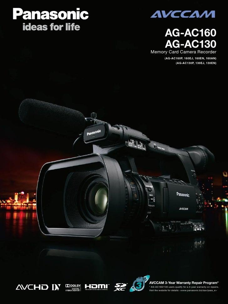 Panasonic AG-AC130E