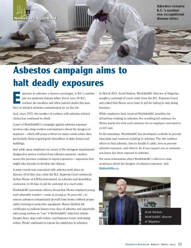 Asbestos remains                                                                                                          ...