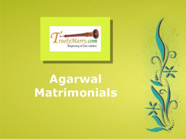 Agarwal Matrimonials