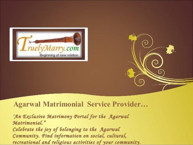 Agarwal Matrimonial Service Provider