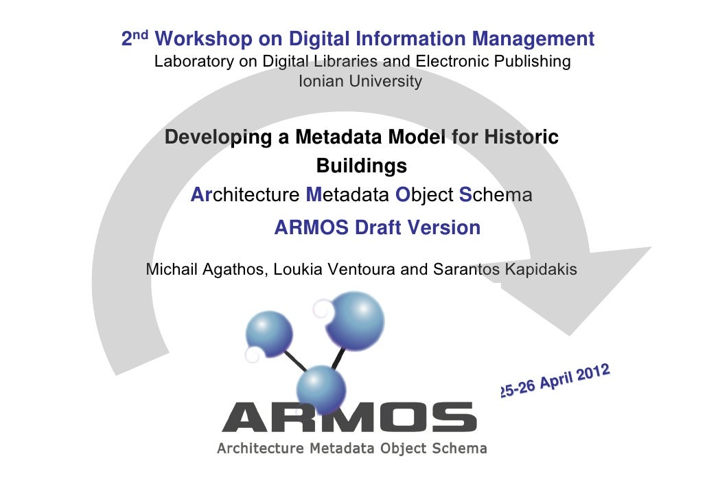2nd Workshop on Digital Information Management   Laboratory on Digital Libraries and Electronic Publishing                ...