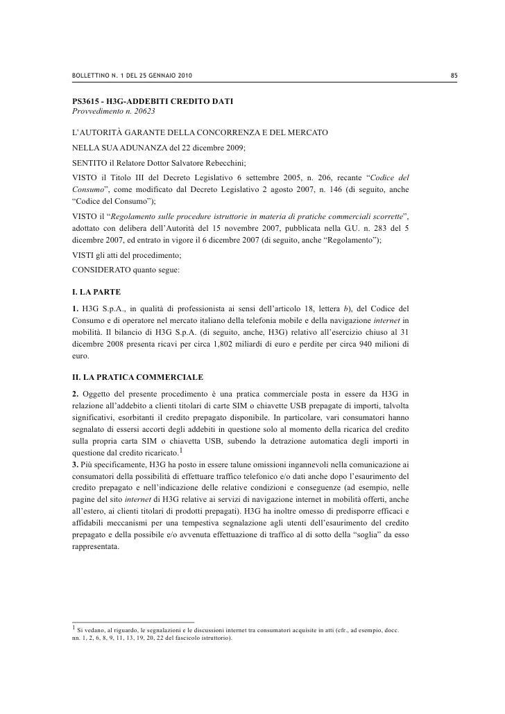 BOLLETTINO N. 1 DEL 25 GENNAIO 2010                                                                                       ...