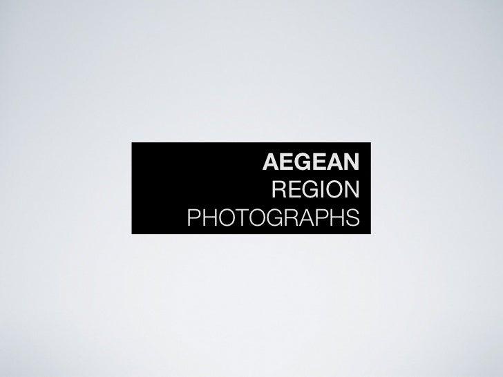 AEGEAN      REGIONPHOTOGRAPHS