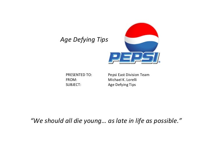 Age Defying Tips