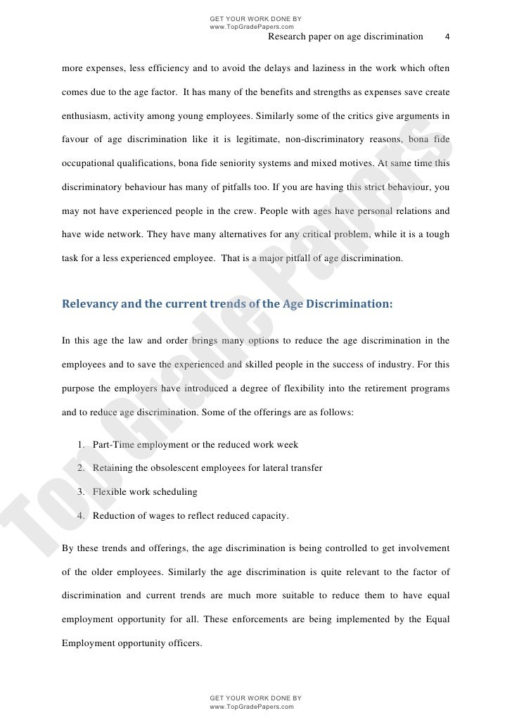 racial discrimination employment research paper racial discrimination essay 1867 words